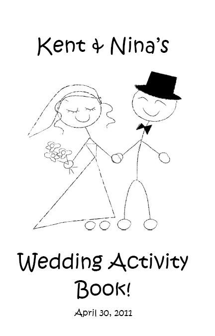 wedding activities for kids something white wedding activity book for kids
