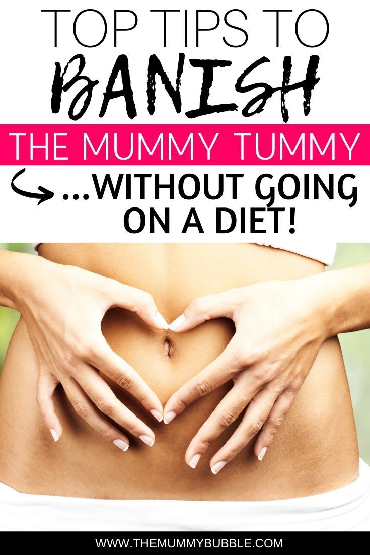 How to fix diastasis recti get rid of mummy pooch fast