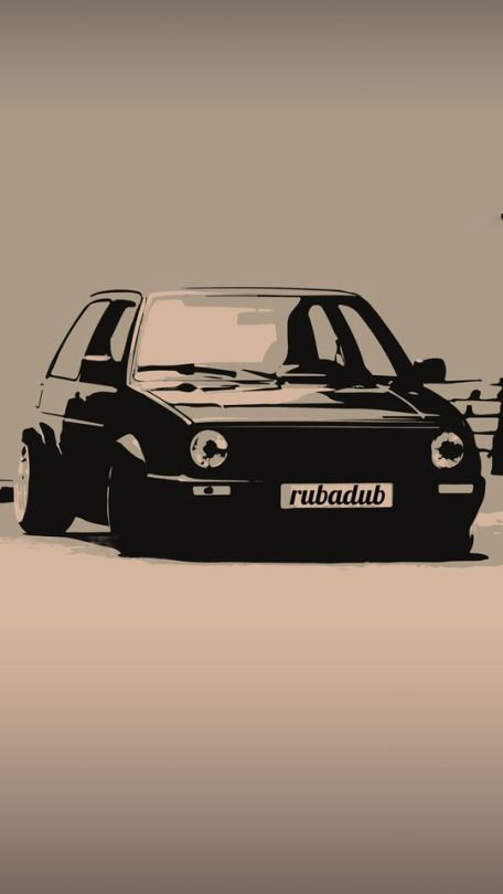 Mk2 Gti Iphone Wallpaper Coches Caros Caribes Vw Coches Y