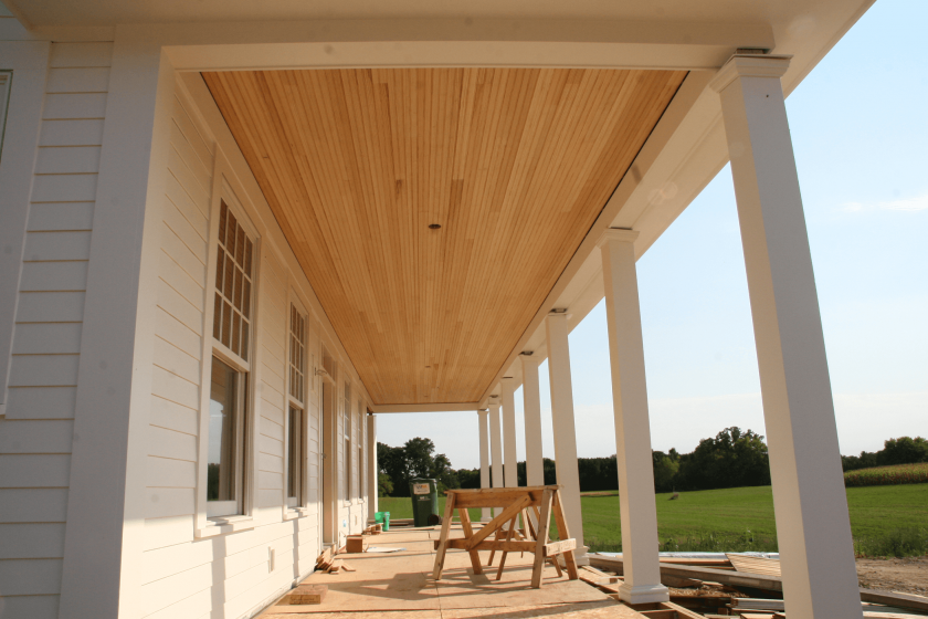 Cedar Tongue And Groove Porch Ceiling Tongue And Groove Ceiling Porch Ceiling Ceiling Materials