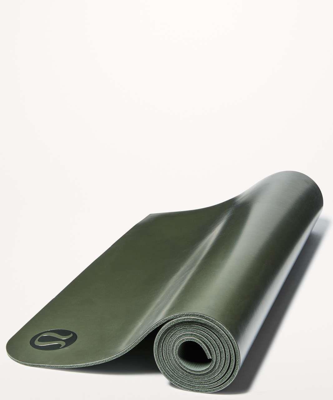 Lululemon The Reversible Mat 5mm Dark Olive / Gator