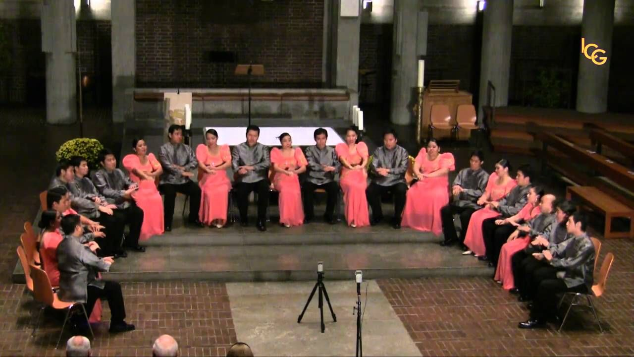 """""""Prayer of St. Francis"""" sung by the Philippine Madrigal"""
