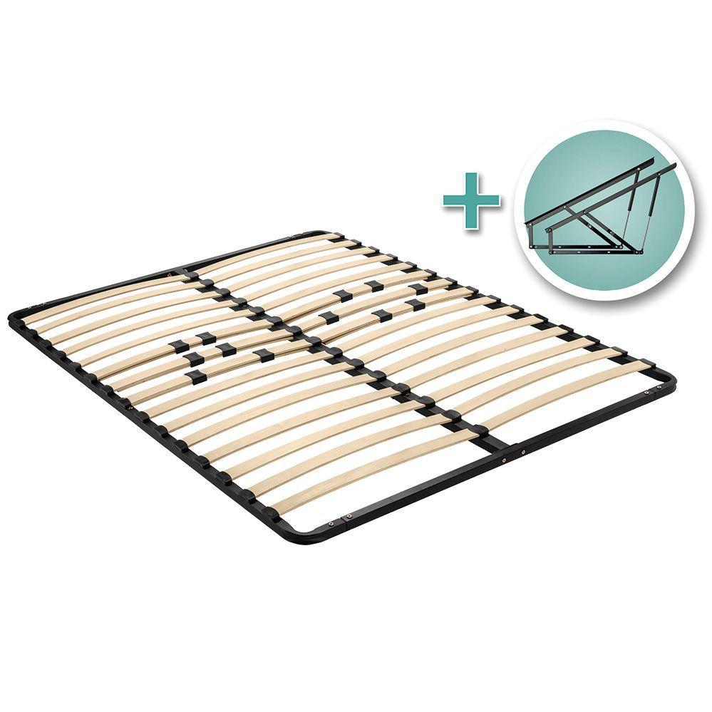 Platform Bed Lift Mechanism with Mattress Platform and