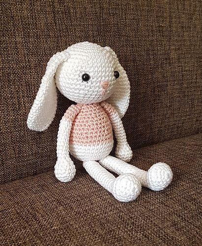 Jenny the Bunny pattern by Janine | Pinterest