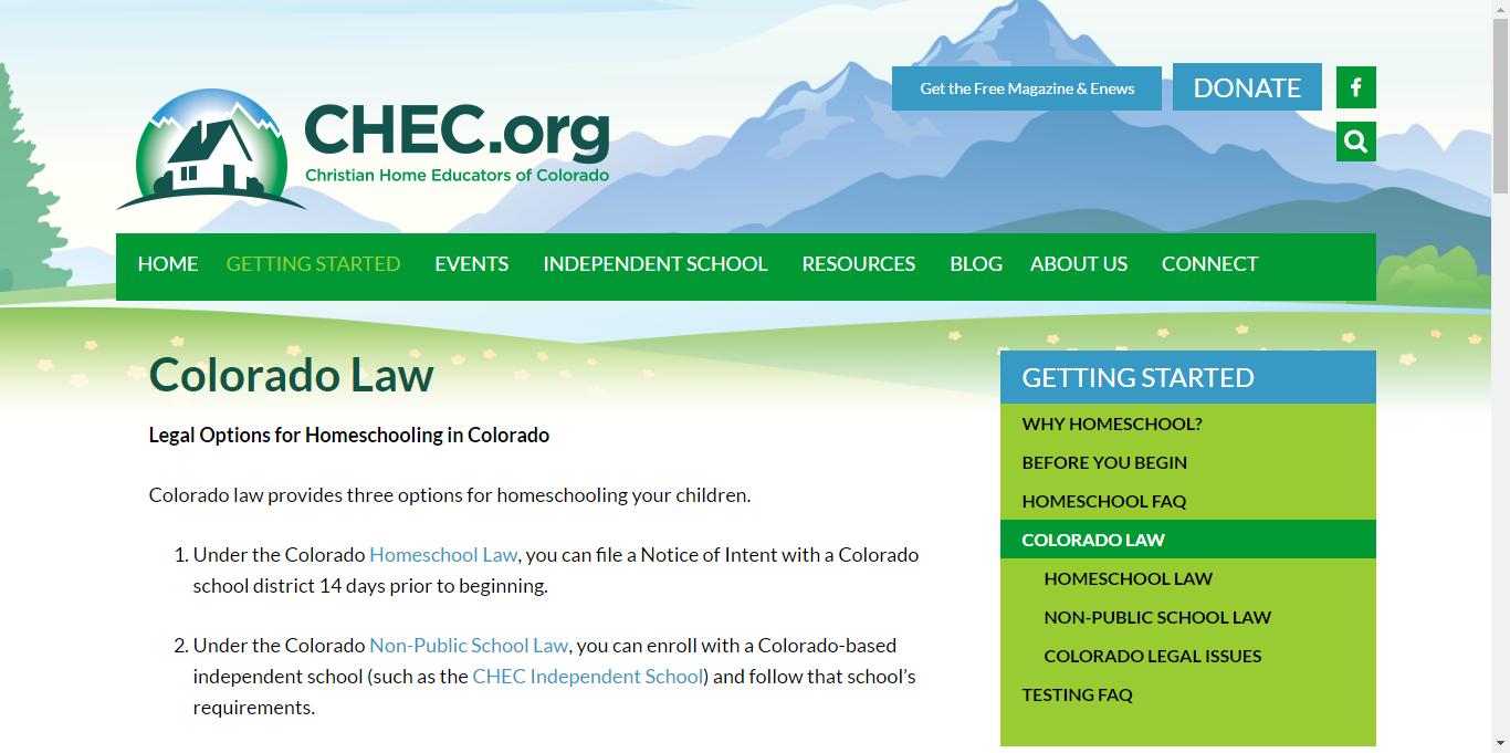 Colorado Law - CHEC