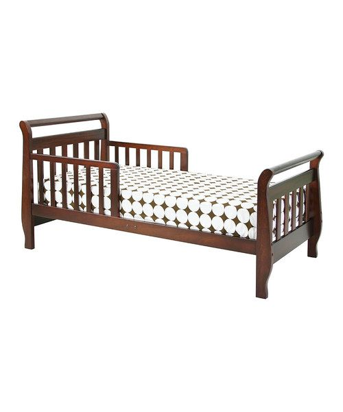 This Solid Pine Sleigh Bed Is Just The Transitional Piece A Toddler Needs Between Outgrowing The Crib And Moving On To A Full Size Toddler Bed Convertible Toddler Bed Sleigh Beds