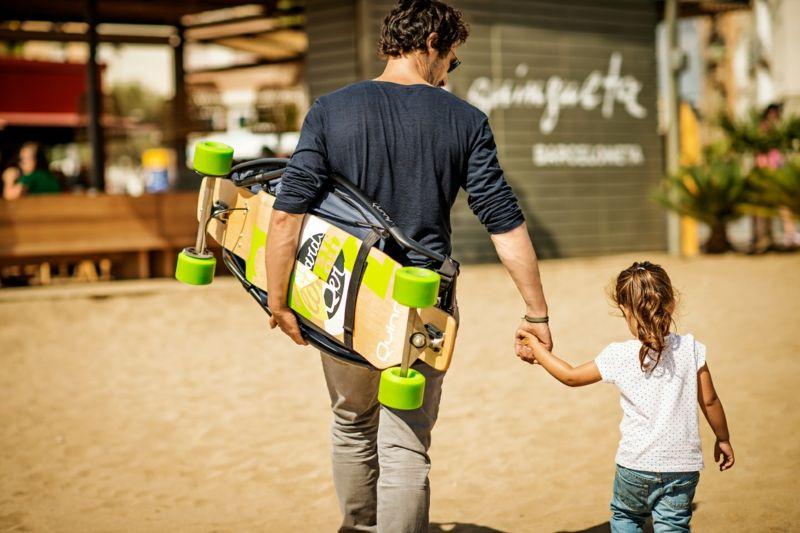 Hervorragend Designer Kinderwagen U2013 Innovative Kombination Mit Longboard Von Quinny # Designer #innovative #kinderwagen #
