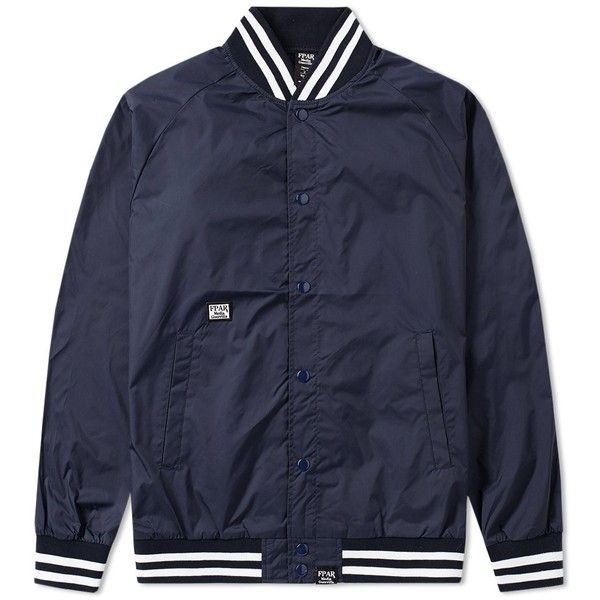 aae46584 FPAR College Bench Jacket (310 CAD) ❤ liked on Polyvore featuring ...