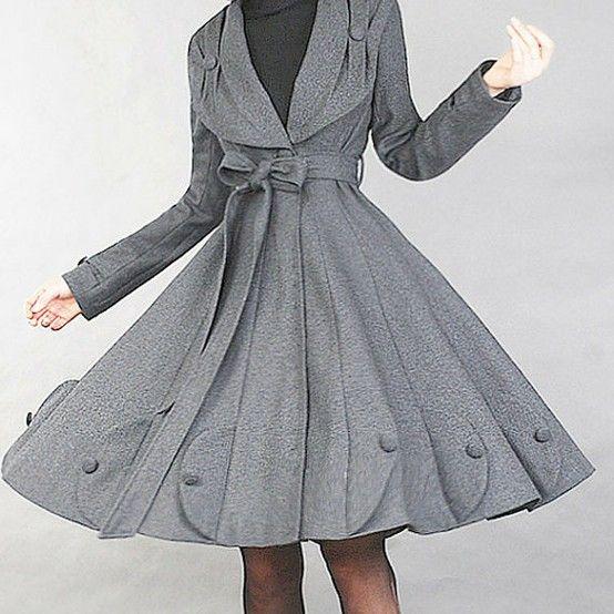 feminine coats in | Super feminine coat | Interest Box | Designer ...
