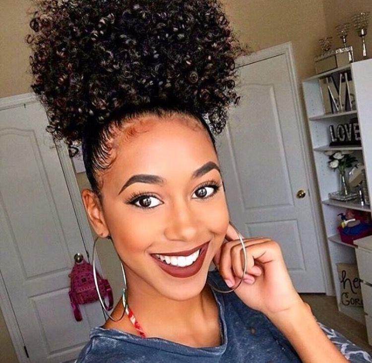 Perfect Natural Hair Puff