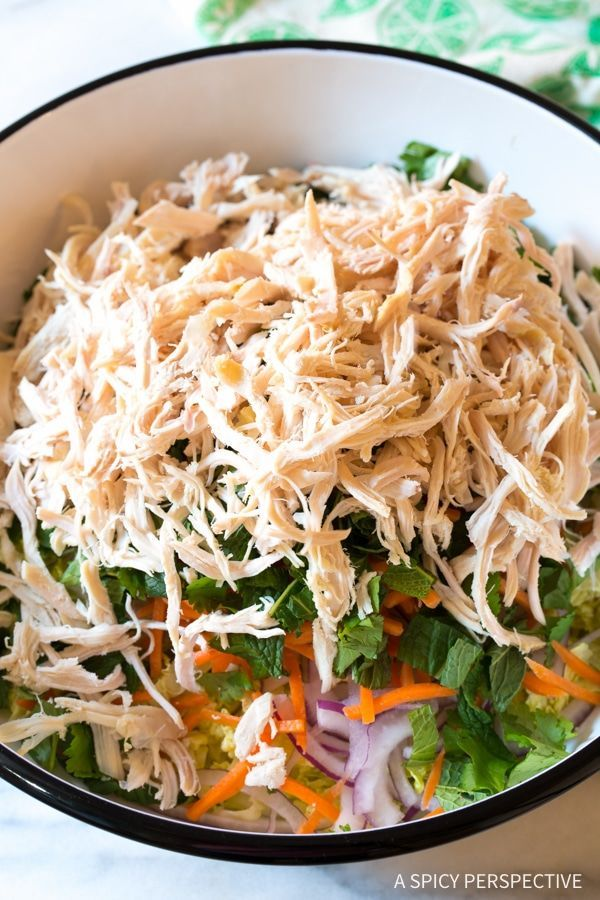 Vietnamese Cold Chicken Salad (Goi Ga)
