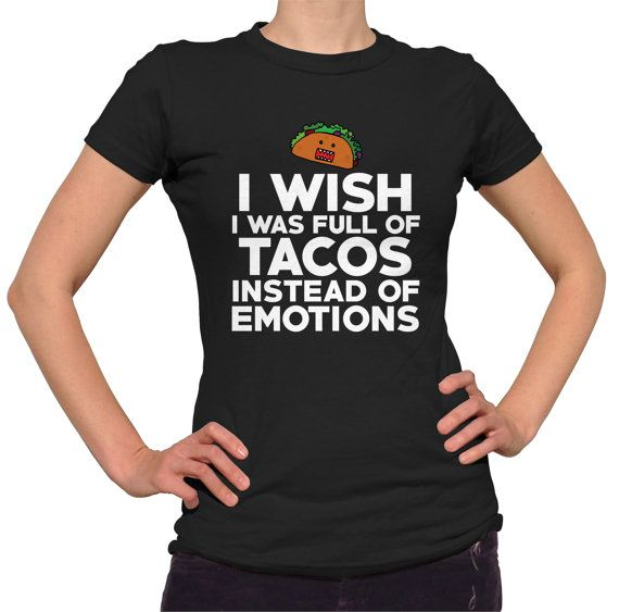 01fe31be8f Taco Shirt Funny T-Shirt I Love Tacos Food T Shirt Cinco De Mayo Taco Gift  Mexican Food Taco Tuesday Taco Party Introvert Foodie