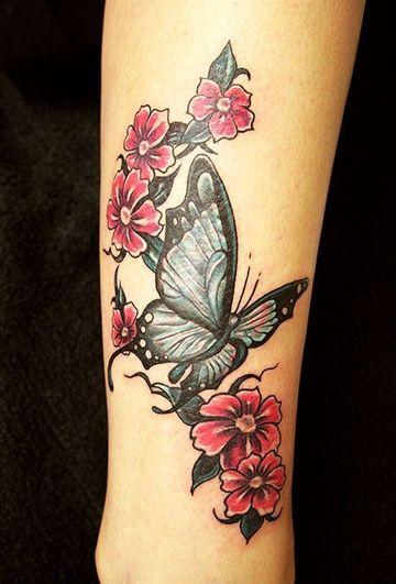 La Metamorfosis Y Tatuajes De Mariposas En La Pierna Tatuajes Para