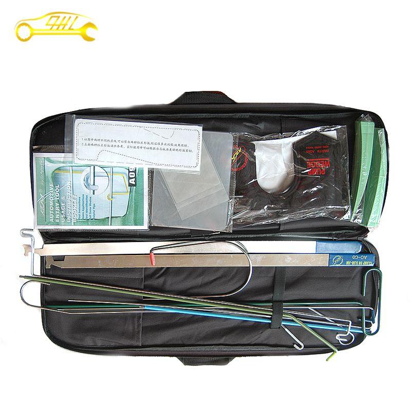 Professional automobile auto entry lockpicking open door car kit de crochetage !