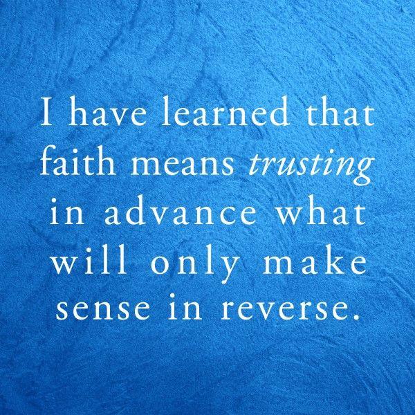 faith means trust trust - 600×600