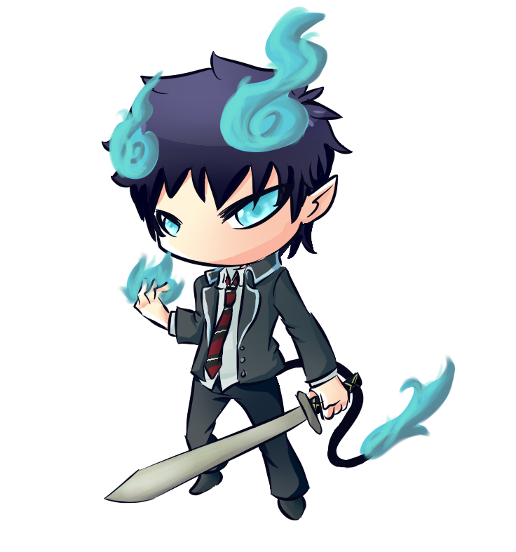 Pc12 Rin Okumura From Blue Exorcist By Carefulkoala D6ho1i8 Png 736 787 Blue Exorcist Rin Okumura Manga