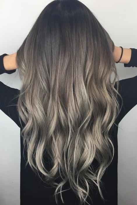 Ash blond hair colors we love -   10 hair Balayage cenizo ideas