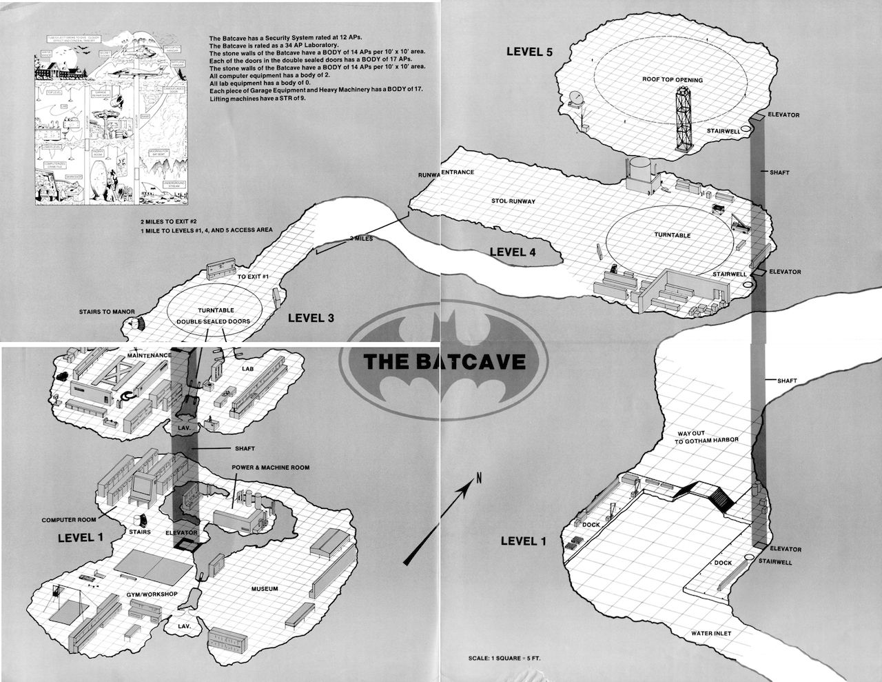 Blueprints for the batcave from the 1986 batman sourcebook via blueprints for the batcave from the 1986 batman sourcebook via malvernweather