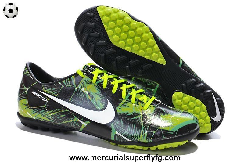 5ab9c95f9 New IX TF TROPICAL PACK Nike Mercurial Vapor (Flash Lime Black White ...