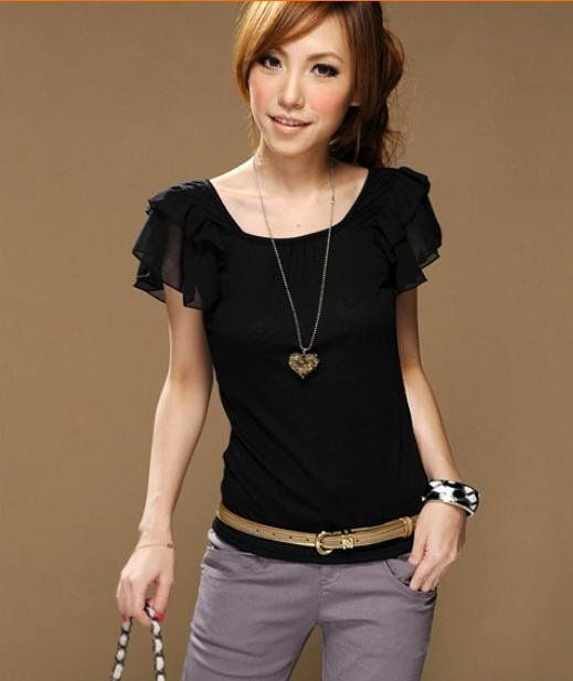 Black Blouse For Women