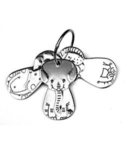 Isis Parenting - Kleynimals - Clean Key Animals - 6+ months - stainless steel, can be put in fridge to chill