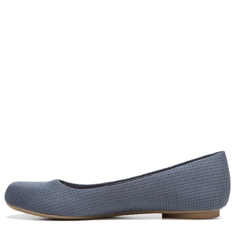 dbf8d78e674 Dr. Scholl s Women s Friendly 2 Medium Wide Flat Shoes (Oxide Micro Perf)