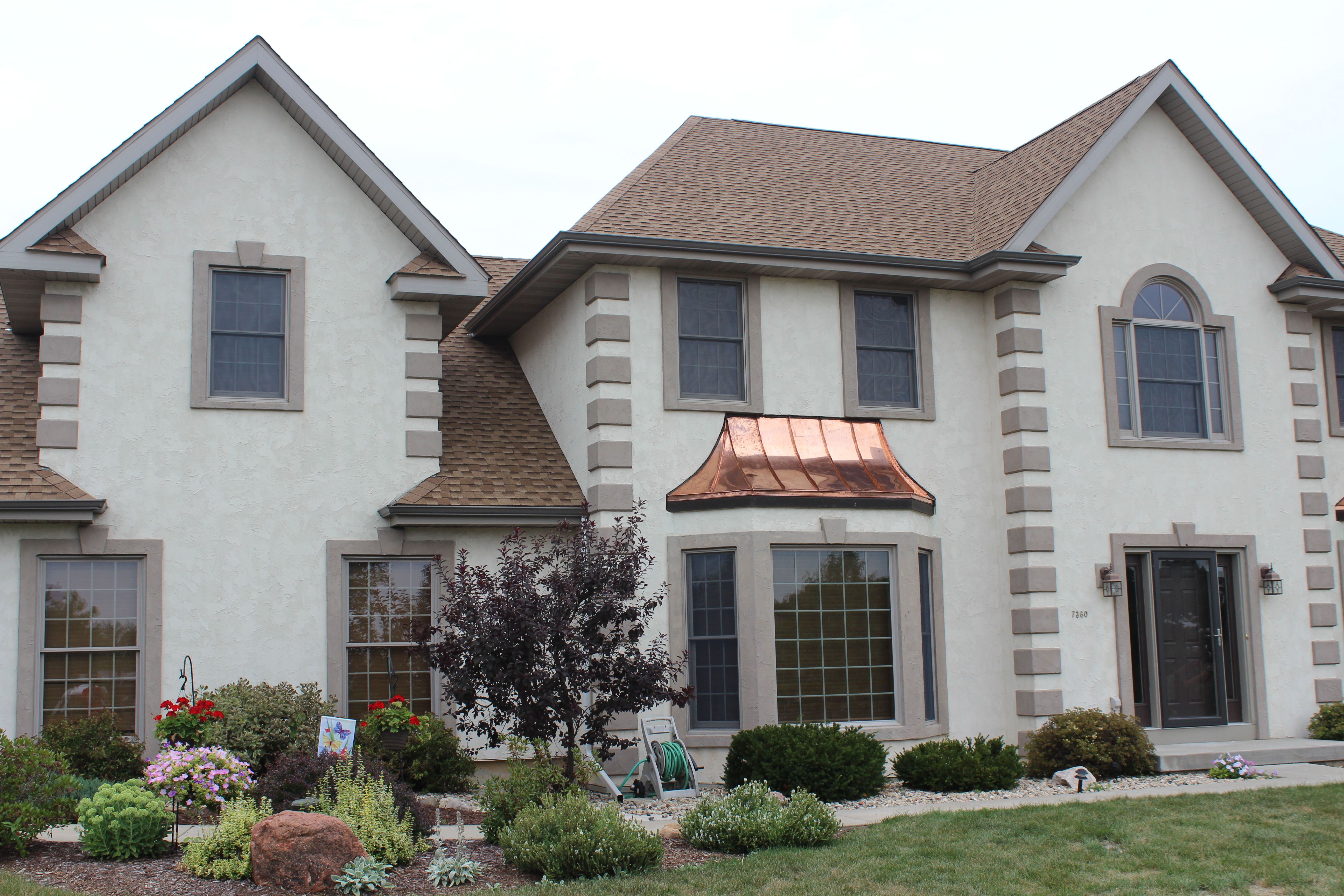 Middleton Copper Bay Windows Bay Window House Exterior Copper Roof
