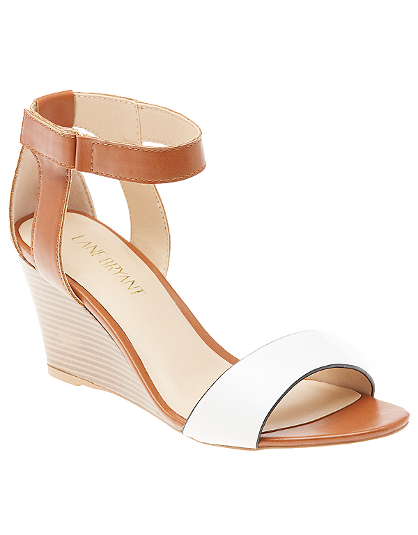 Ankle strap wedge  | Lane Bryant