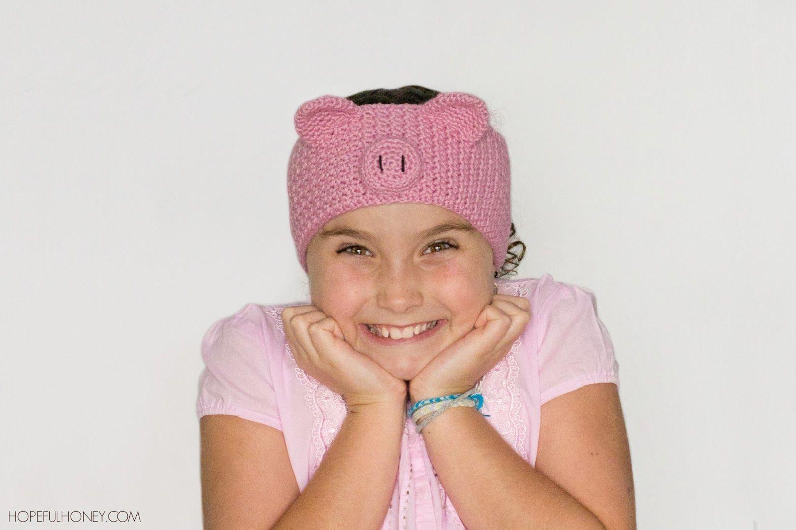 Pretty Pig Headband Crochet Pattern   Pinterest   Tejido y De todo