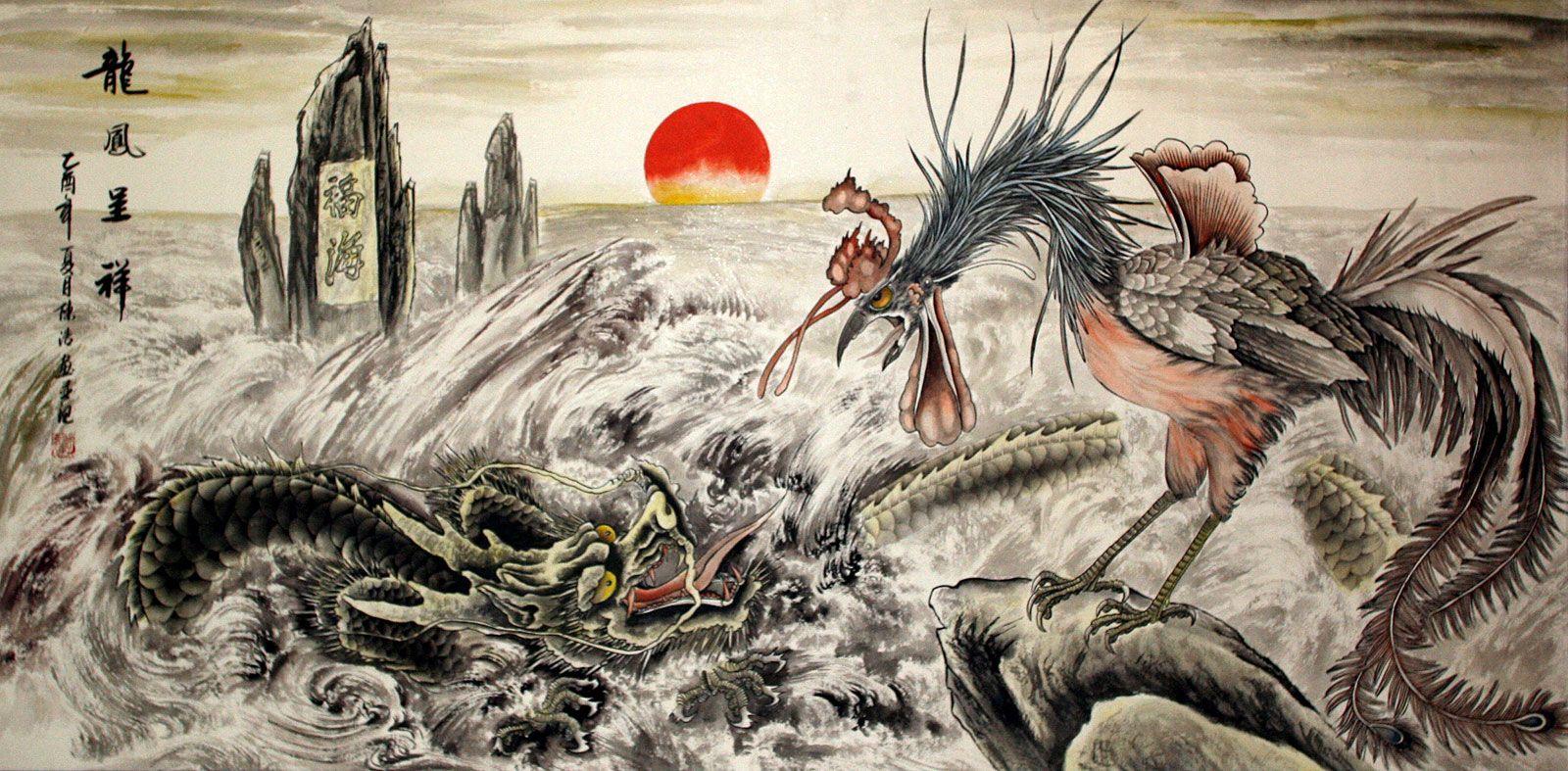 Korean Dragons Mythology: Korean Dragon And Tiger - Google Keresés