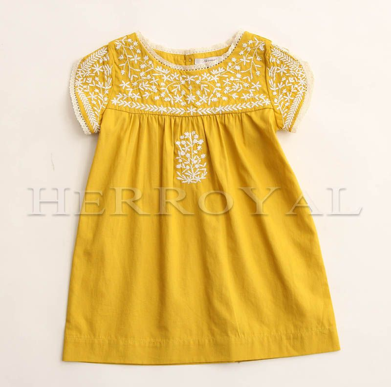 d516c0fb398 Bonpoint embroidered dress