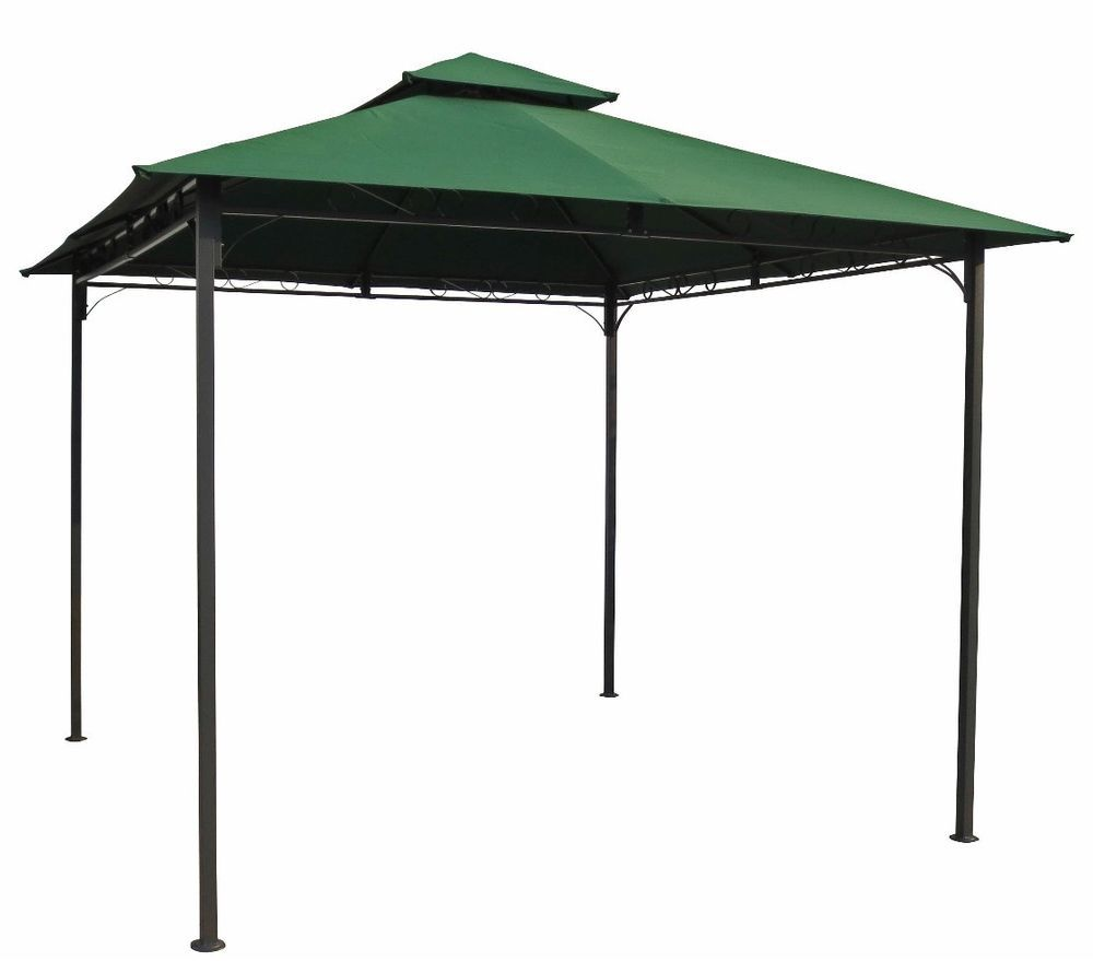Outdoor Patio Gazebo 10x10 Canopy Frame Tent Yard Garden Furniture ...