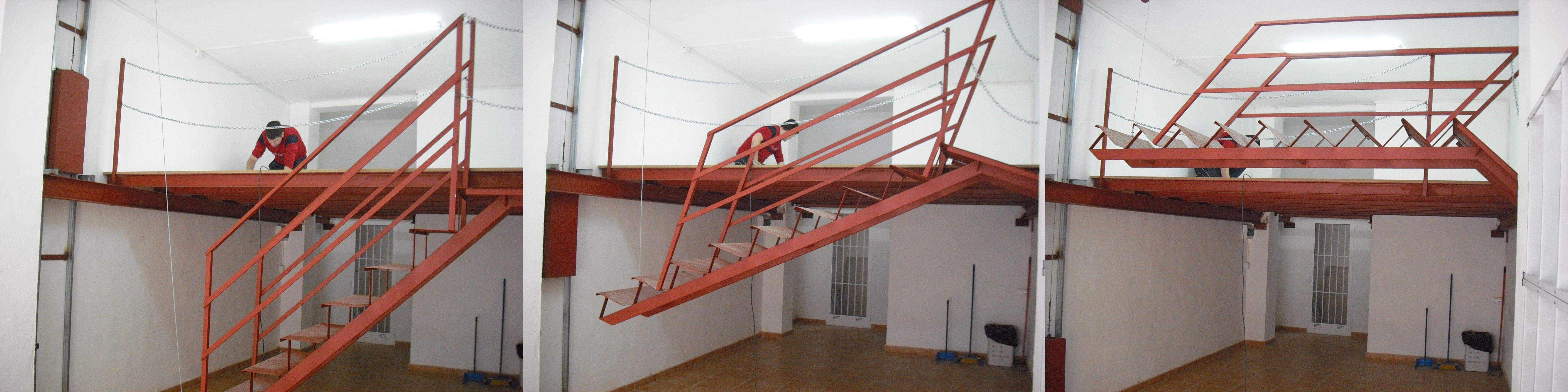 Escalera Basculante
