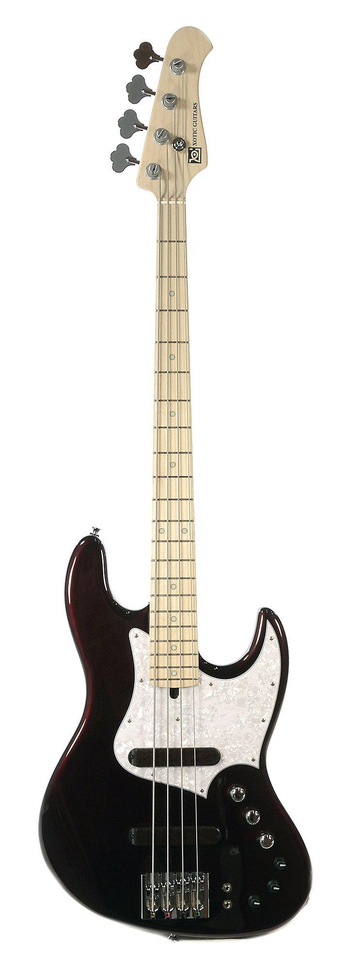 XOTIC XJ1T 4-String Bass Black Cherry | Chicago Music Exchange