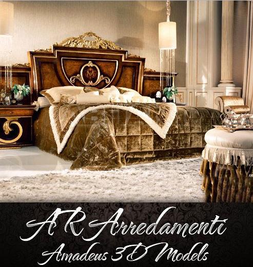 Ar Arredamenti Amadeus 3d Models Collection Luxury Bedroom Furniture Luxurious Bedrooms King Bedroom Furniture