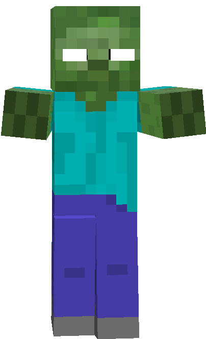 Halloween Minecraft Herobrine Zombie Minecraft Zombie Halloween