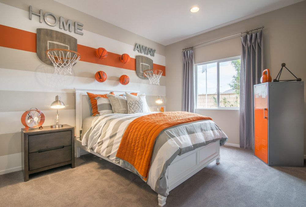 Addison Pointe 2 Room Ideas Bedroom Boys Room Decor Basketball Bedroom