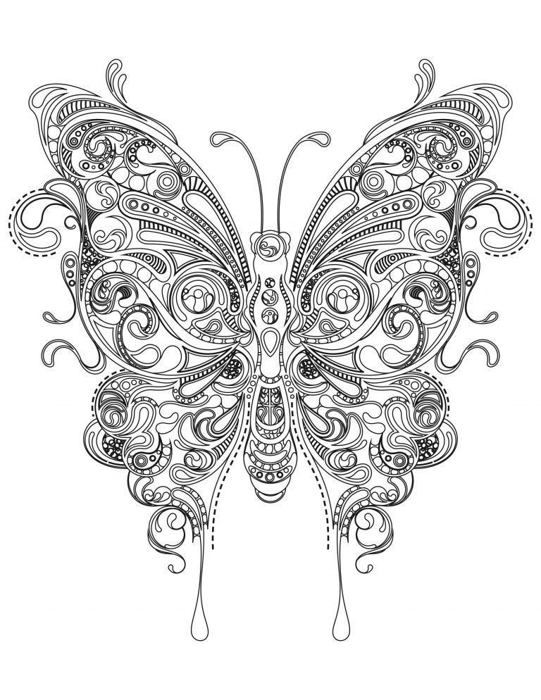 Mandala Butterfly Coloring Pages Butterfly Coloring Pages For Adults In 2020 Mandala Coloring Pages Butterfly Coloring Page Coloring Pages Inspirational