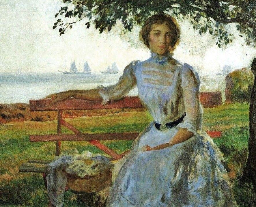 Joseph de Camp. Mrs Ernest Majoy