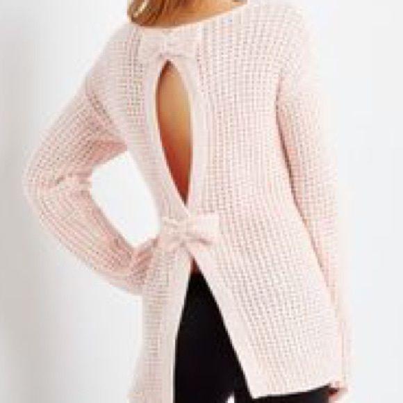 💗sale💗Bethany Mota bow back sweater | Bethany mota, Aeropostale ...