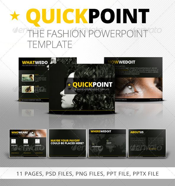quickpoint powerpoint template | template, presentation templates, Powerpoint templates