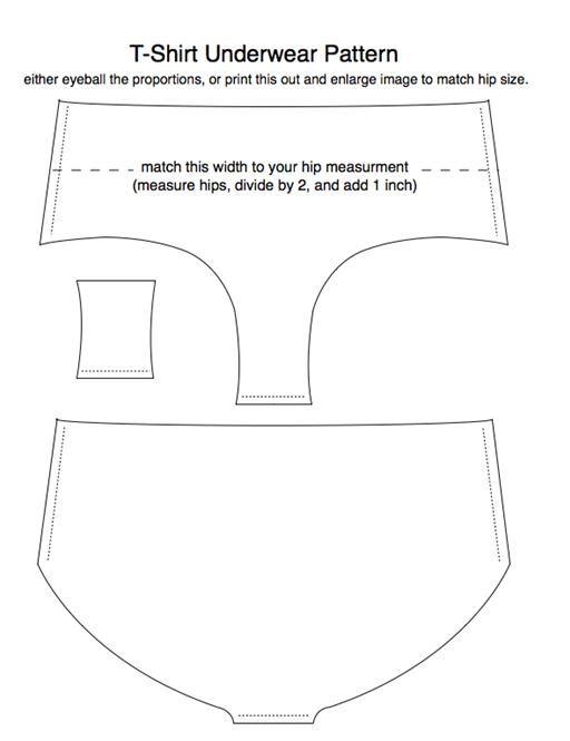 News: Old T-Shirts Reincarnated as Underwear | Pinterest | Underwear ...