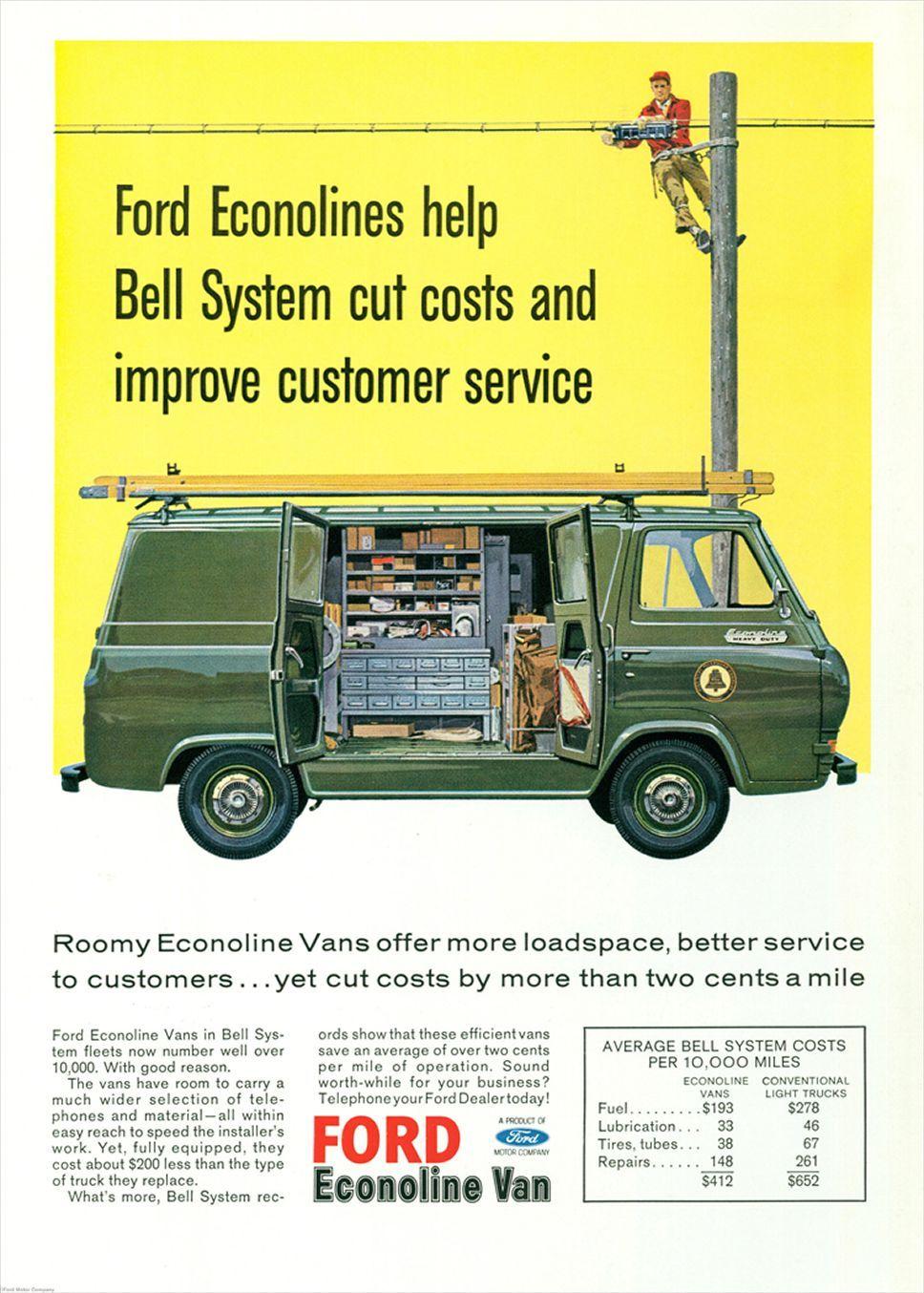 1964 ford econoline advertisement 198675 photo 1 trucktrend com