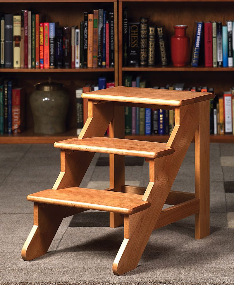 Pin By Janelda Pearce On Creative Ideas Wood Step Stool Wooden Step Stool Wood Steps