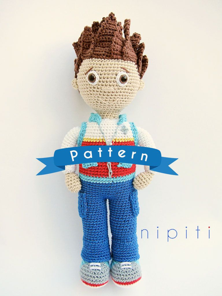 This is a crochet pattern PDF for Ryder - NOT the actual finished ...