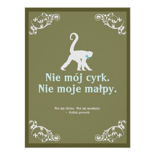 Polish Proverb Poster Inspiration Quotes Polish Proverb Polish