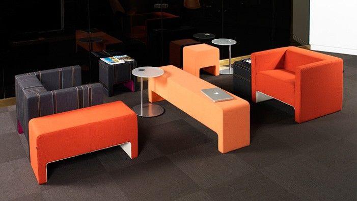 Davos Collaborative Modern Lounge Bench Lounge Seating Furniture Lounge Furniture