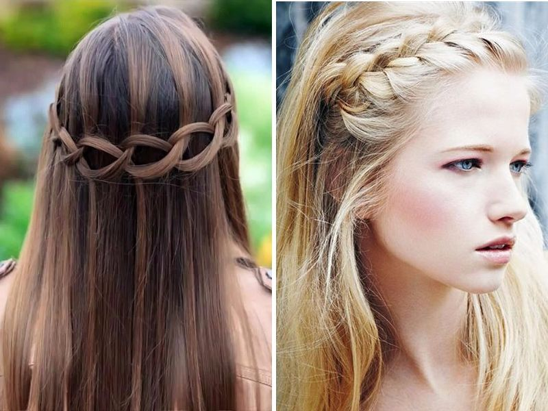 An Abundant Resource Of Straight Wedding Hairstyles | Straight Hairstyles Weddings And Prom Hair