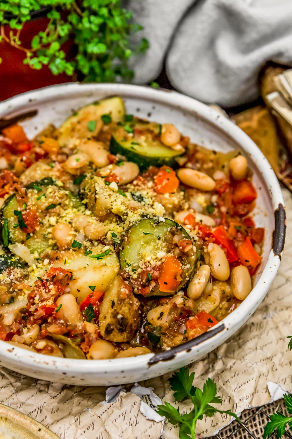 Rustic Italian Vegetable Bake - Monkey and Me Kitc