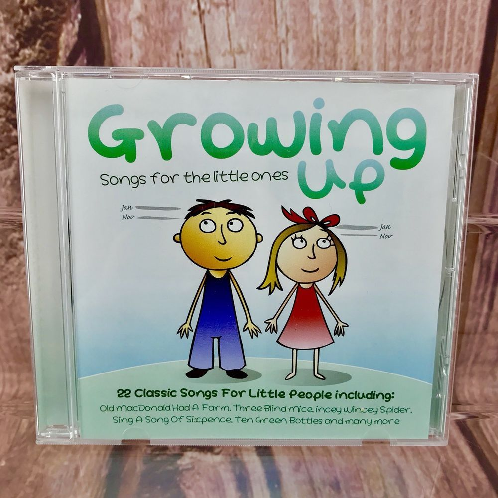 Children\'s favourites growing up songs for the little ones cd ...